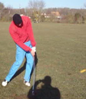 090204 hittingimpact - Swinging A Golf Club Too Hard